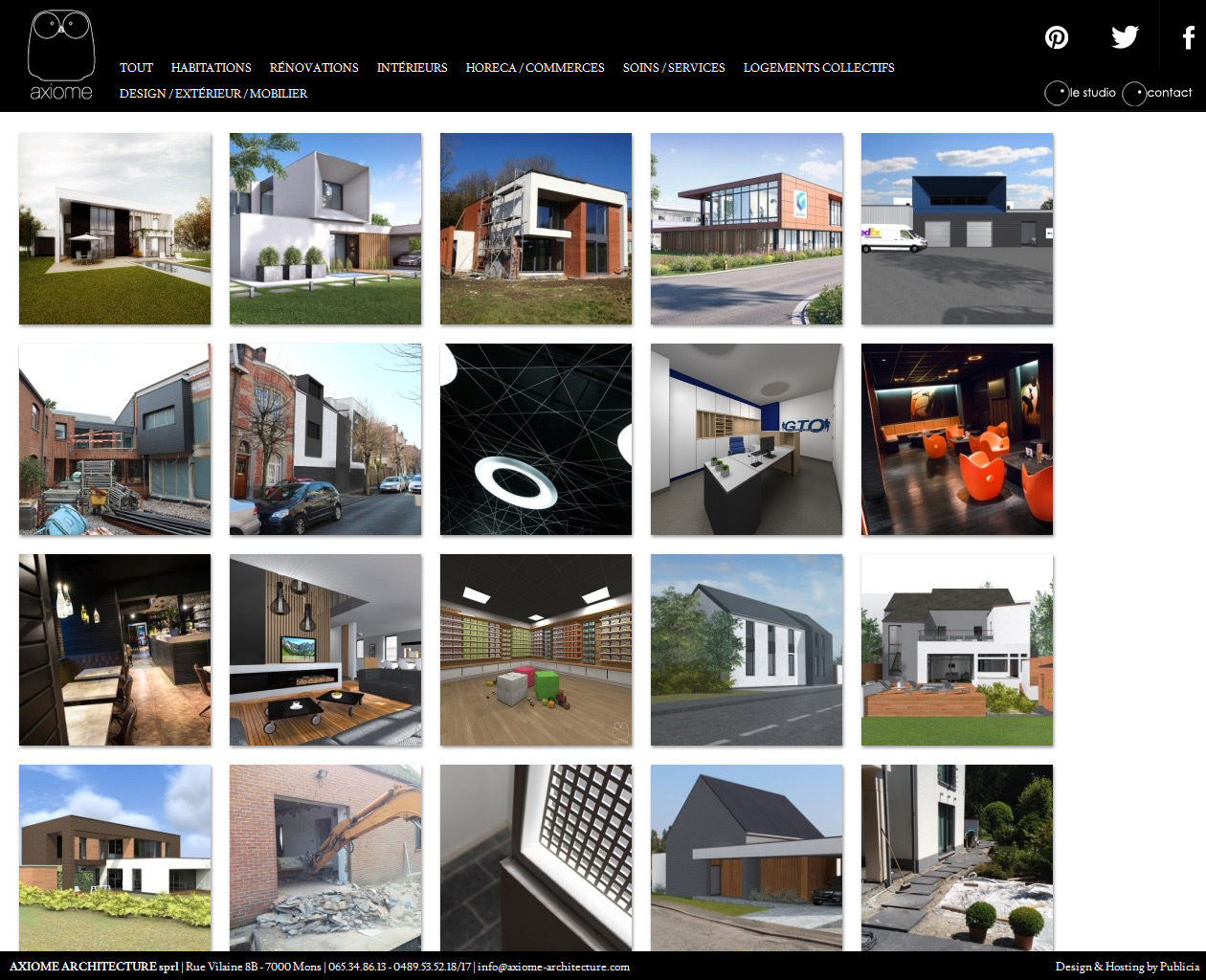 Axiome Architecture