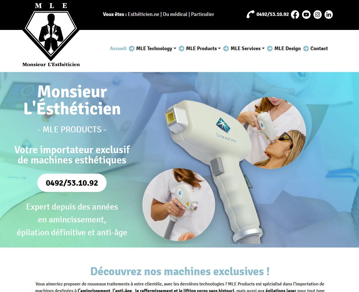 Mr L'Estheticien - MLE Products