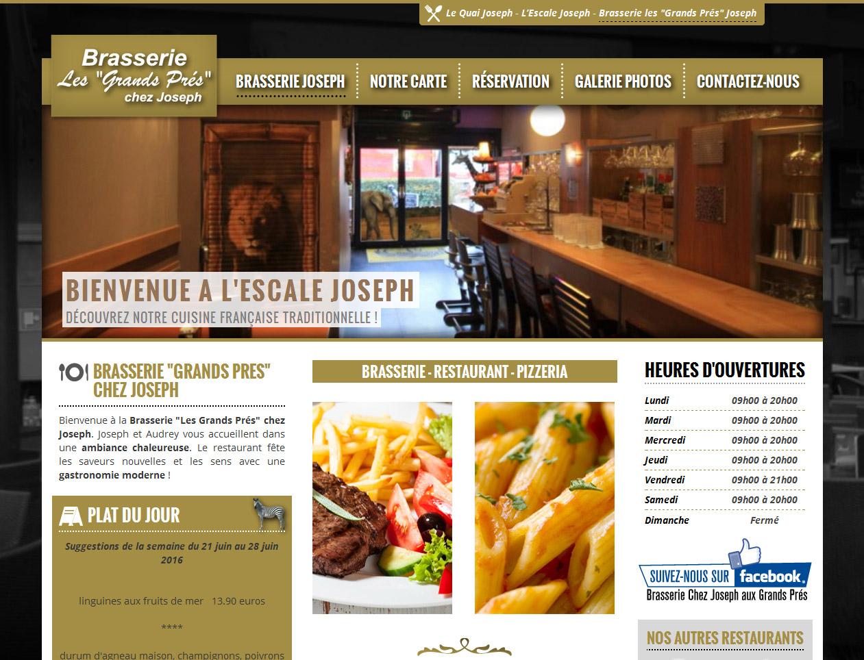 Brasserie chez Joseph aux Grands Prés