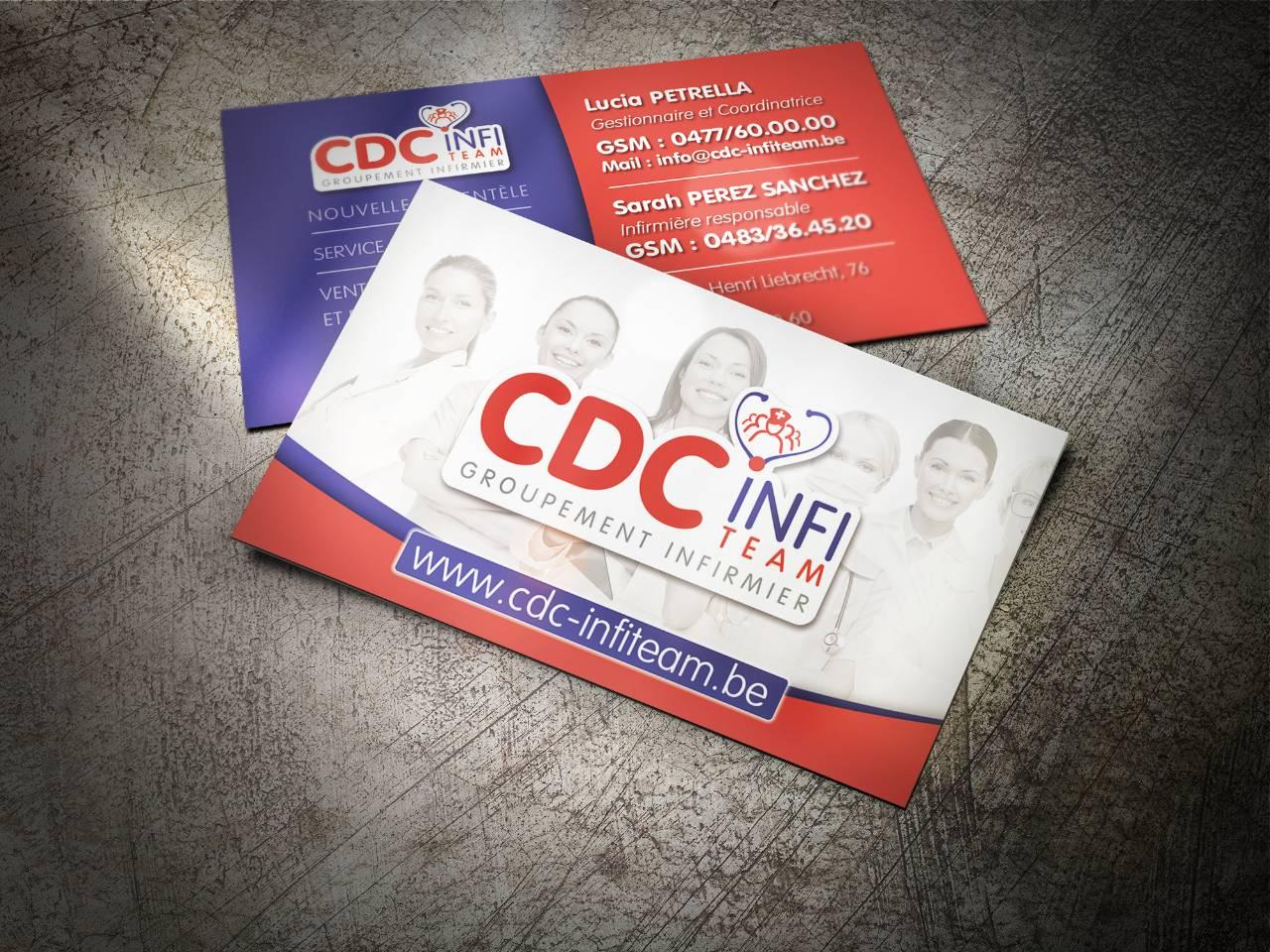 CDC Infi Cartes De Visite