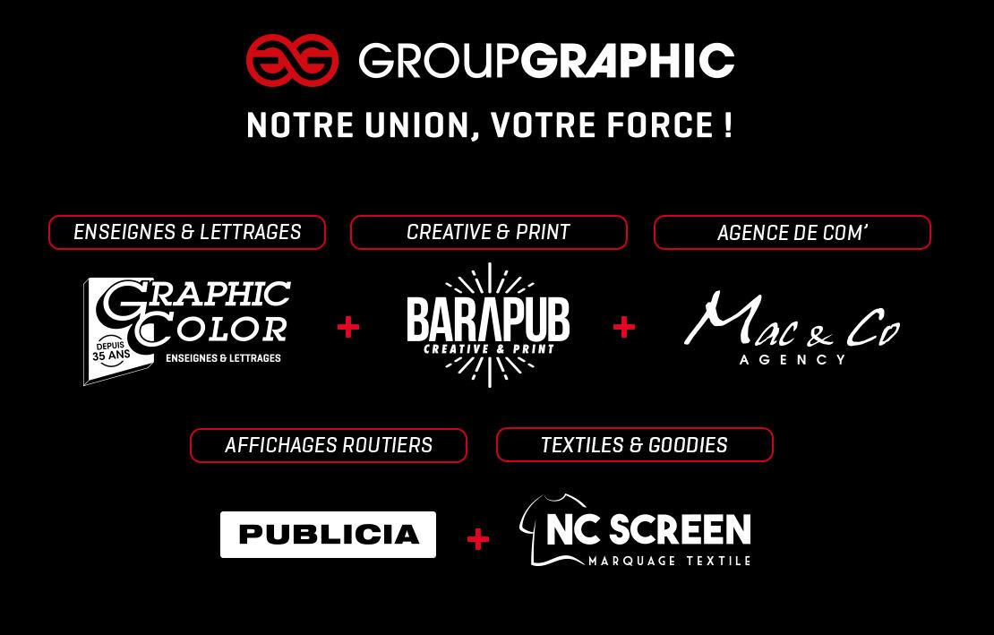 Group Graphic : nos sociétés