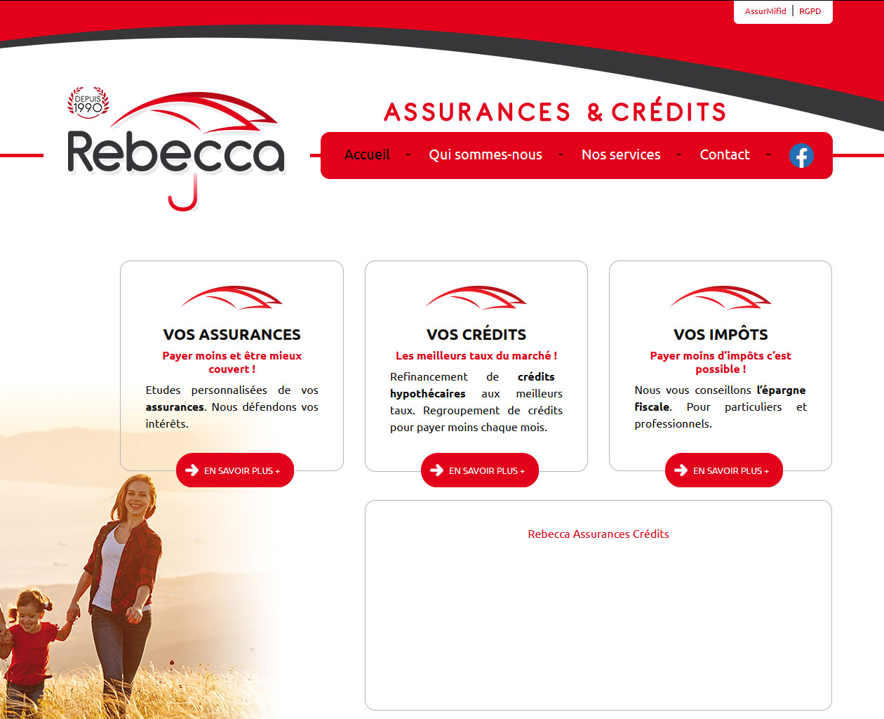 Assurances et crédits - Rebecca Segers